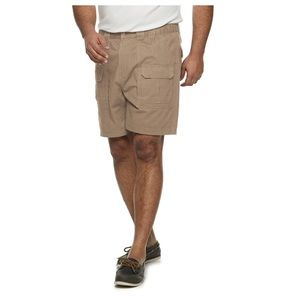 Croft and Barrow khaki cargo shorts 50 54